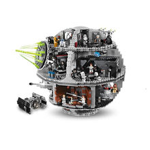 LEPIN 05035 Star Wars Death Star Model Building Kit Minifigures Blocks Bricks Toys Compatible with legoed 10188 Christmas Gifts
