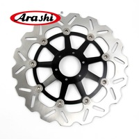 ARASHI Front Brake Disc For HONDA HORNET 250 1996 2001 HORNET 250 CBR F F2 400 400F 400F2 1985 1986 1987 CNC Brake Disks Rotors