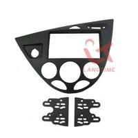 Free Shipping Car Refitting DVD Frame DVD Panel Dash Kit Fascia For 06 Ford Fiesta Focus