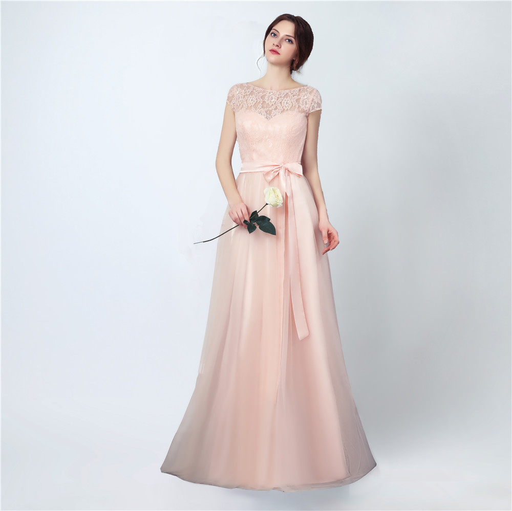 Bridesmaid Dresses Long 2017 New Designer Tulle Lace