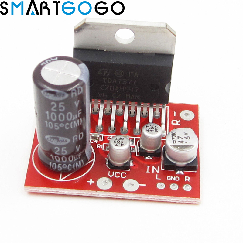 TDA7377 DC 12V Digital Audio Power Amplifier 35W+35W 2.0 Dual-channel Board