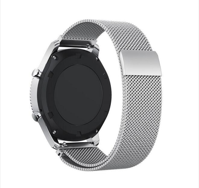 metal Band for samsung galaxy watch active 42 46mm s2 s3 zenwatch Ticwatch E 2 1 pro c2 huawei watch GT bracelet 20mm 22mm strap in Watchbands from Watches