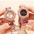 Top Luxus Marke Frauen Uhren Frauen Diamant Casual Kleid Uhr Damen Strass Uhr Frau Uhr Uhr Neue uhren para mujer-in Damenuhren aus Uhren bei