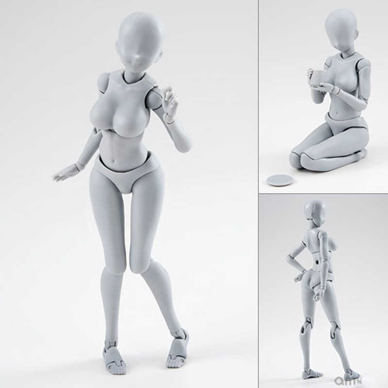 14cm Movel Feminino Masculino Corpo Figura De Acao Brinquedos
