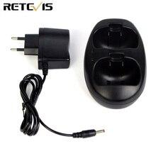 Батарея зарядное устройство для детей радио Retevis RT602 двухканальные рации двухстороннее J7120C