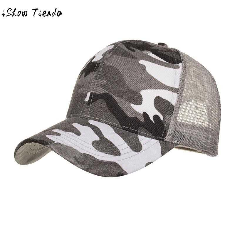 bae0a2c0 Unisex Casquette Camouflage Cap Hats For Men Women Cotton Camo Baseball Cap  Outdoor Climbing Hunting Camo Snapback Hats#T