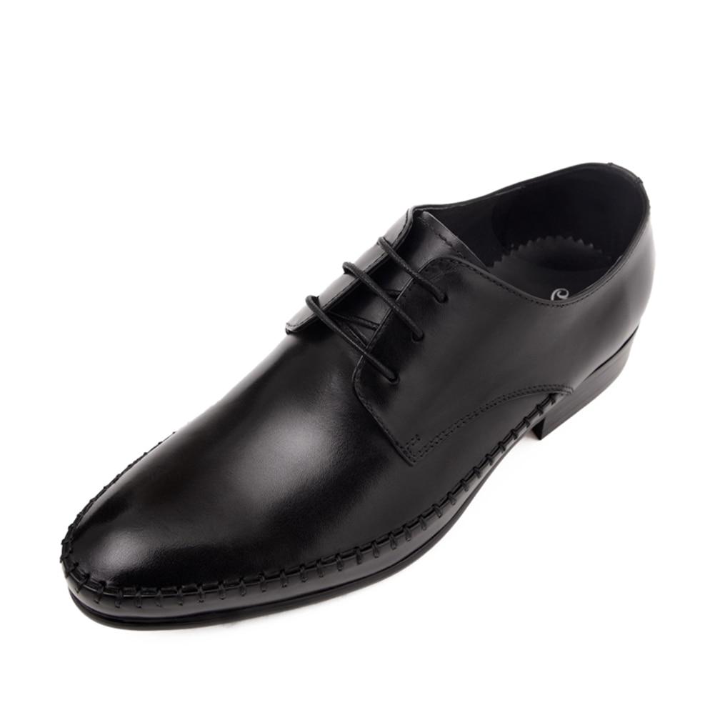 Estilo Negócio Black Vestido Calçados Sapatos Noiva Novas Rendas Couro Casuais Pé Homens Up De Dedo Genuíno Dos Retro red 2018 Redondo Do 7qFR7Ovw