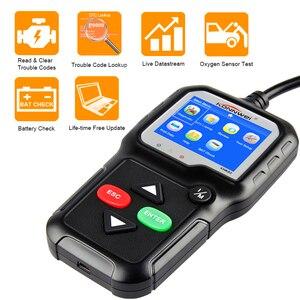 Image 2 - Skaner OBD2 OBD 2 samochodów diagnostyczne automatyczne narzędzie diagnostyczne KONNWEI KW680S rosyjski język skaner samochodowy narzędzia skaner diagnostyczny