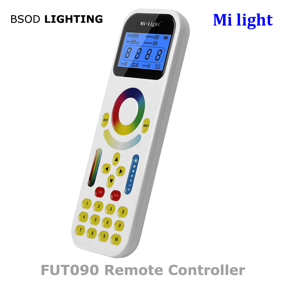 Dc 12v 24v 15a Mi Light Ls1 4 In 1 Smart Cct Dim Rgb Rgbw Led Strip Controller With Wireless 2.4g Rf Fut090 Remote Controller Goods Of Every Description Are Available Rgb Controlers