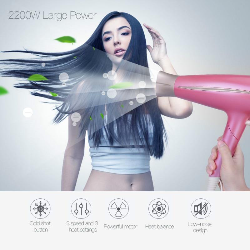 RIWA T3 2200W Mini Foldable Handle Hair s