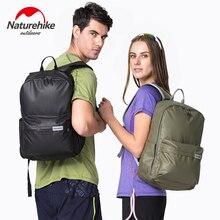 * Naturehike Men Women waterproof Backpack Leather Bag Leisure School Bags outdoor camping hiking tourist backpack bag