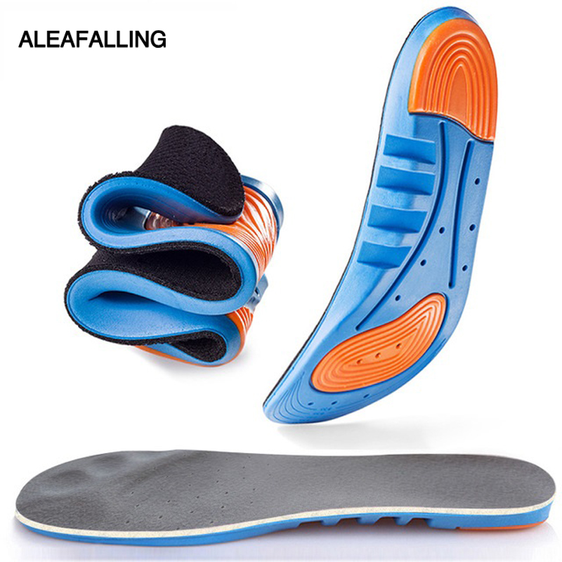 Aleafalling Soft Insoles Professional Cushion Foot Care Shoe Inserts Light Shoe Eva Deodorant Orthotic Train Insole Is07