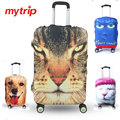Cute Animal Pattern Travel Luggage Protective Suitcase Cover Luggage Cover Apply To 19~32 Inch Case Excellent Elastic