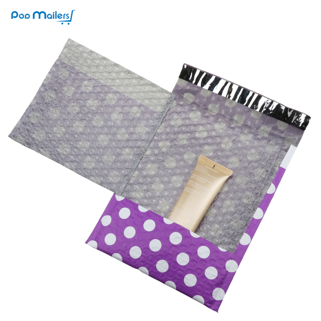 10pcs #0 Poly Bubble Mailers 6*9 Inch/175*230mm Bubble Envelopes