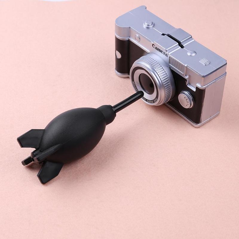 Black FOTGA Professional Rocket Air Blower Duster for DSLR Camera CCD Lens Keyboard Dust Cleaner