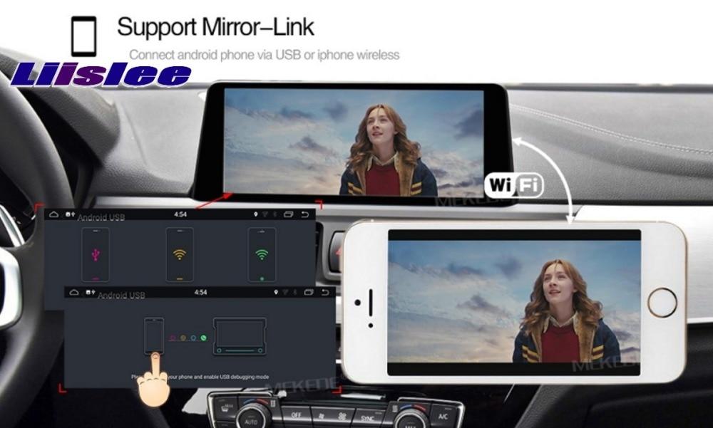 Liislee Navi For CarPlay 10.25 DABDAB+ 2G RAM For BMW X1 E84 2009-2015 Original NBT EVO System Car Multimedia GPS Navigation 17