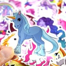 Colorful Waterproof Unicorn Stickers Set