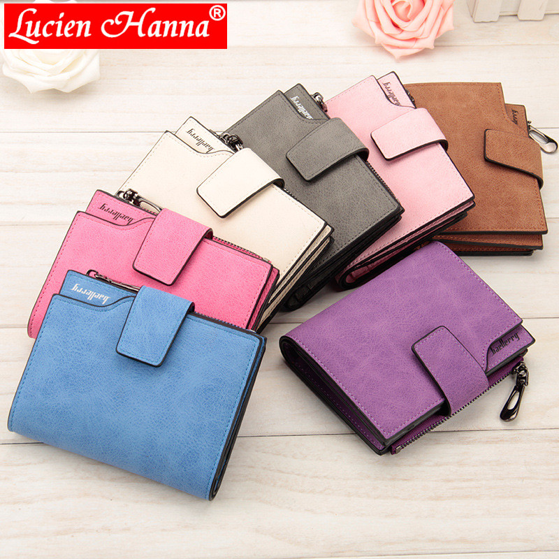 Retro Matte Women Wallet Hasp Zipper Wallets Small Female Coin Purse Leather Clutch Lady Money Pouch Bag Candy Color Card Holder недорго, оригинальная цена