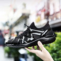 AD AcolorDay Designer Luxury Shoes Men Air Mesh Solid Men Shoes Rubber Sole New Arrival 2017 Soft Brand Men Causal Shoes  Black