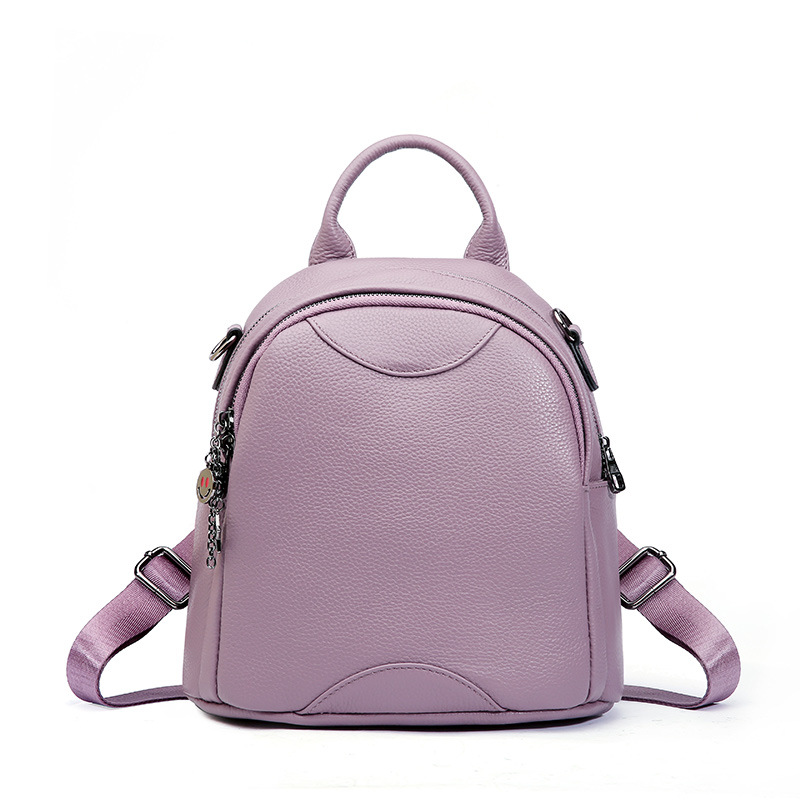 2018 Fashion Genuine Leather Women's Backpack 100% Cow Leather Ladies School Bag Small Travel Backpack Shoulder Bag for Women hot sale new backpack genuine leather women backpack fashion school backpack luxury women shoulder bag youth shoulder bag women