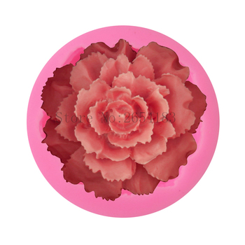 DIY Flower Big Rose Shape Silicone Fondant Soap 3D Cake Mold Cupcake Jelly Chocolate Decoration Baking Tool Moulds FQ3318 ttlife 3d daisy flower shape silicone mold pastry cupcake chocolate soap bakeware mould fondant cake sugarcraft decoration tools