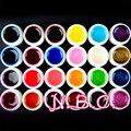 24 шт. цвет уф-гель Tranperant сочетание цветов nail-гель уф-блеск уф-строитель акриловые комплект для ногтей цвет уф-гель ногтей краска уф-гель