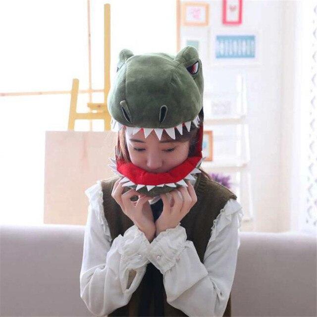 Плюшевая Шапка Динозавр 2