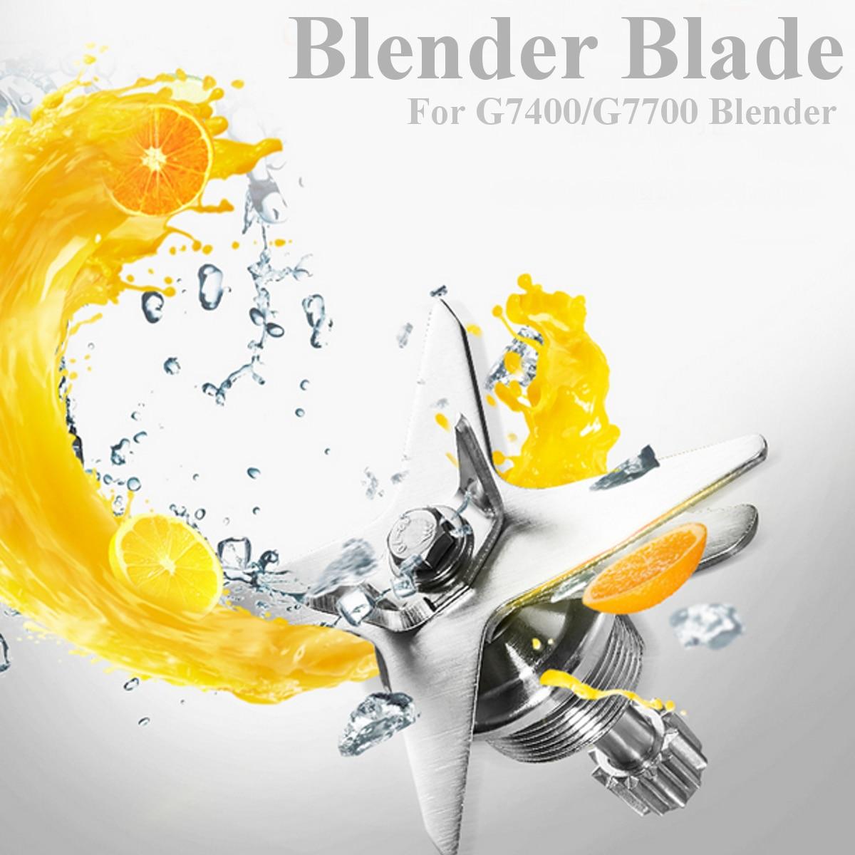 Fit For G7400/G7700 Blenders Blender-Cutter Head Stainless Steel Silver High Hardness Durable Blender-Parts стоимость