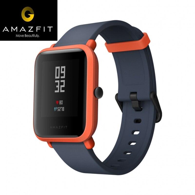 AMAZFIT Bip BIT PACE Lite Youth Smart Wristband GPS GLONASS Heart Rate Monitor Android 4.4 IOS 8 Bluetooth 4.0 IP68 Waterproof original amazfit bip youth edition smart watch gps glonass bluetooth 4 0 heart rate monitor ip68 waterproof android 4 4 ios 8