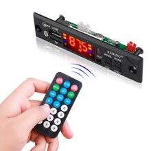 Leitor de mp3 da placa do decodificador de mp3 wma com controle remoto para o carro kebidu áudio do carro usb tf fm módulo de rádio sem fio bluetooth 5v 12v