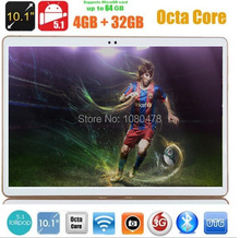 10 inch tablet pc 4G LTE Octa Core 3G WCDMA Android 5 1 4GB RAM 32GB