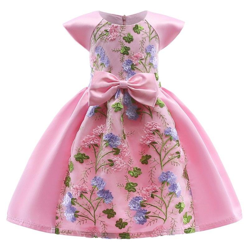 ⑥2018 niños vestidos de Cenicienta para las niñas verano princesa ...