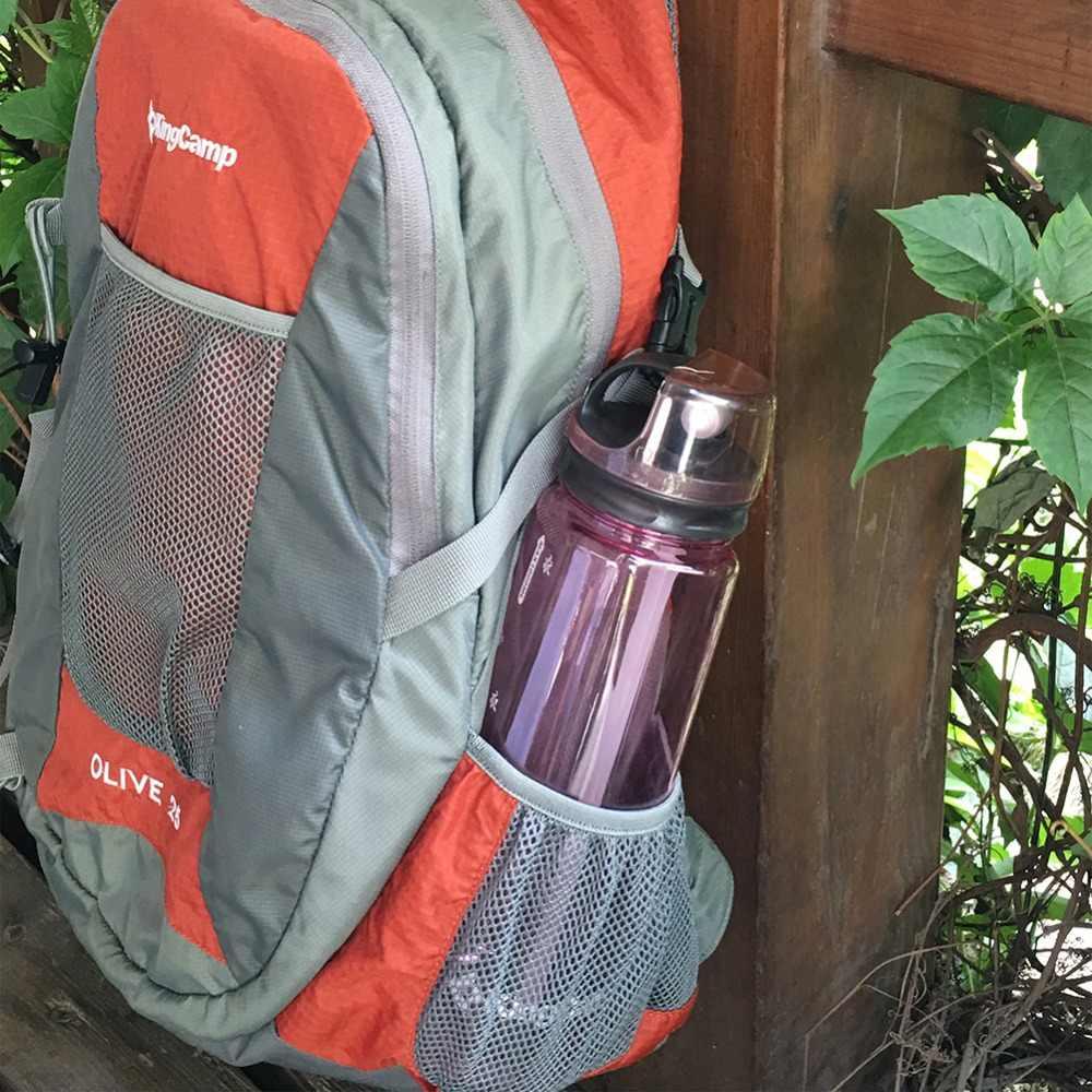 KingCamp 1000 мм, бутылки для воды широкий рот экологический материал Портативный Кемпинг BPA-бесплатно гарантировано для жизни