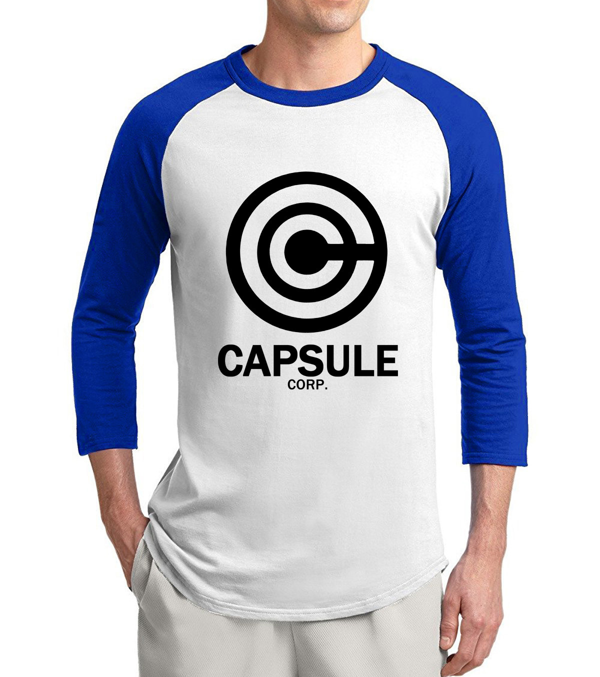 Dragon Ball Capsule Corporation 3/4 Sleeves Sweatshirt