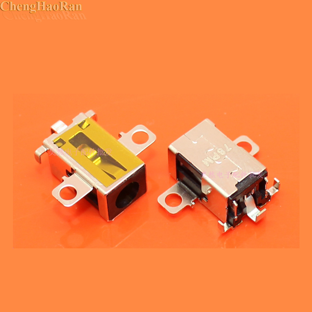ChengHaoRan New DC AC Power Jack Charging Port Connector for Lenovo IdeaPad 110 15IBR 310 15ABR 510 15IKB-in Computer Cables & Connectors from Computer & Office