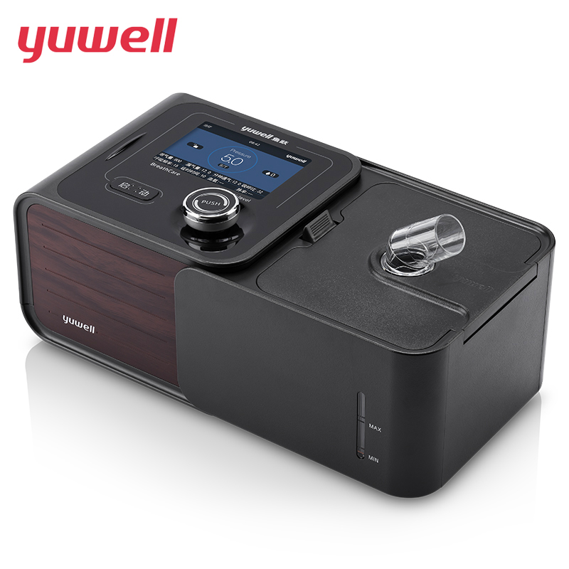 yuwell CPAP Machine Smart Home Ventilator With CPAP Mask Bi-Level PAP Stop Snore Machine Sleeping Apnea Medical Equipment YH720S doctodd gii bpap t 20s cpap machine w free mask humidifier and spo2 kit respirator for apnea copd osahs osas snoring people