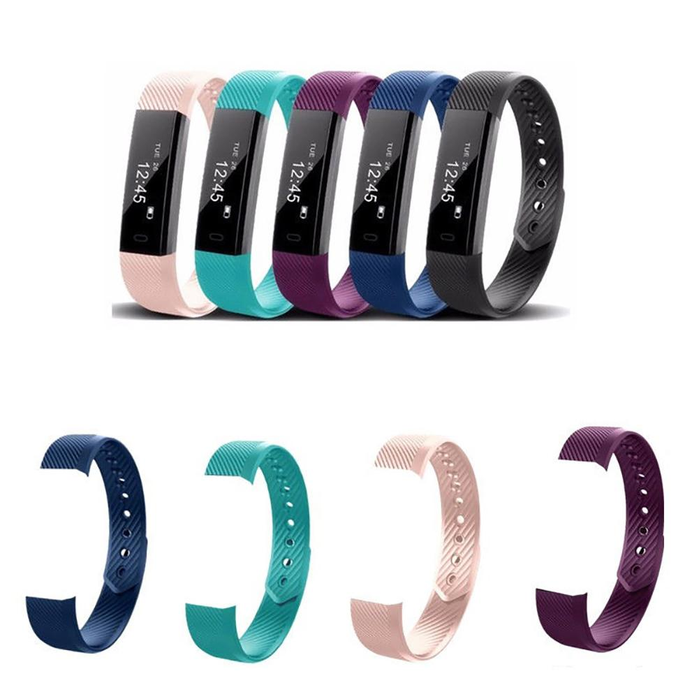 Replacement Silicone Smart Bracelet Band Wrist Strap For Veryfit ID115/Lite/HR Wholesale