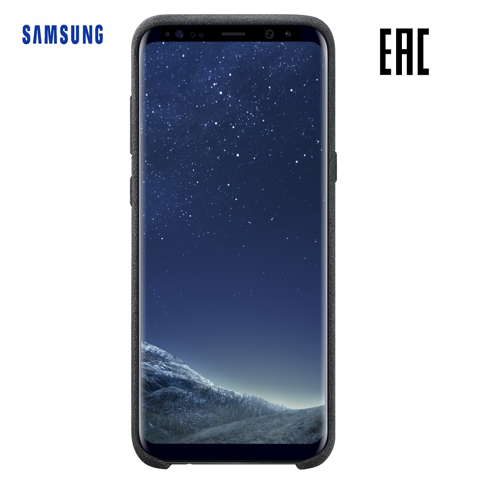 Case for Samsung Alcantara Cover Galaxy S8+ EF-XG955A Phones Telecommunications Mobile Phone Accessories mi_32818819308