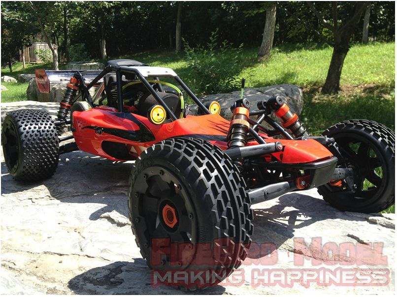 Rovan 1 5 Scale 26cc Gas Powered Engine Racing Baja 5b Rc Car