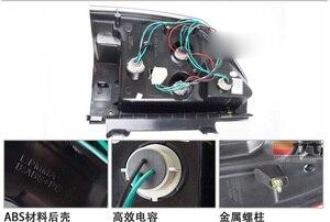 Image 2 - 1set Car Styling for pajero taillights montero V73 LED 2003~2008 car accessories pajero Lamp rear light DRL+Brake+Park+Signal