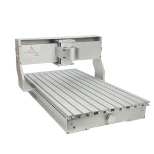 Image 5 - 80mm ציר מנוע מהדק התאסף CNC 6040 מסגרת עם סיבובי עבור נגרות נתב מכונת אלומיניום מתכת חרט