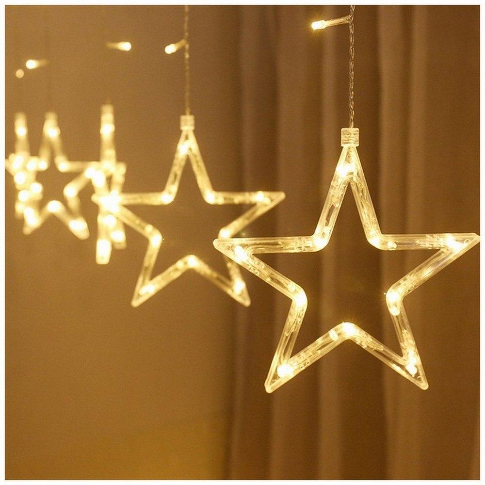 Luces LED Decoracion ins Fairy Lights Christmas Holiday RC Lights Room 2 5 Meter 12 Stars Decorative Lights 500 lumens in Holiday Lighting from Lights Lighting