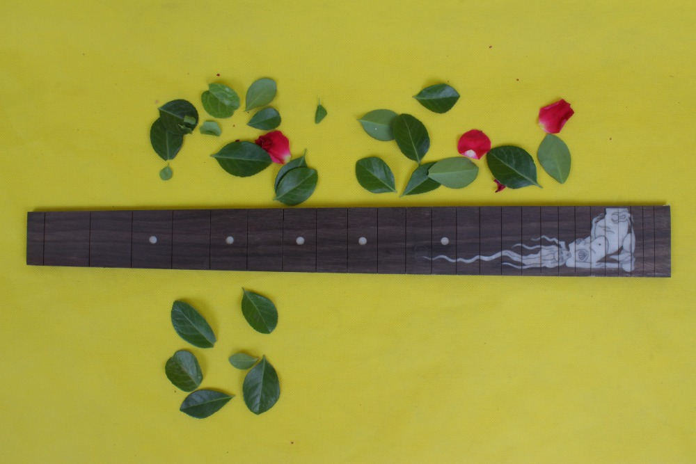 Guitar Accessories  2 x  25.5electric   Guitar Fretboard electric guitar rose  Wood Fretboard Parts 00-9 # inlay guitar accessories 1 x 25 5electric guitar fretboard electric guitar maple fretboard parts 00 50 inlay