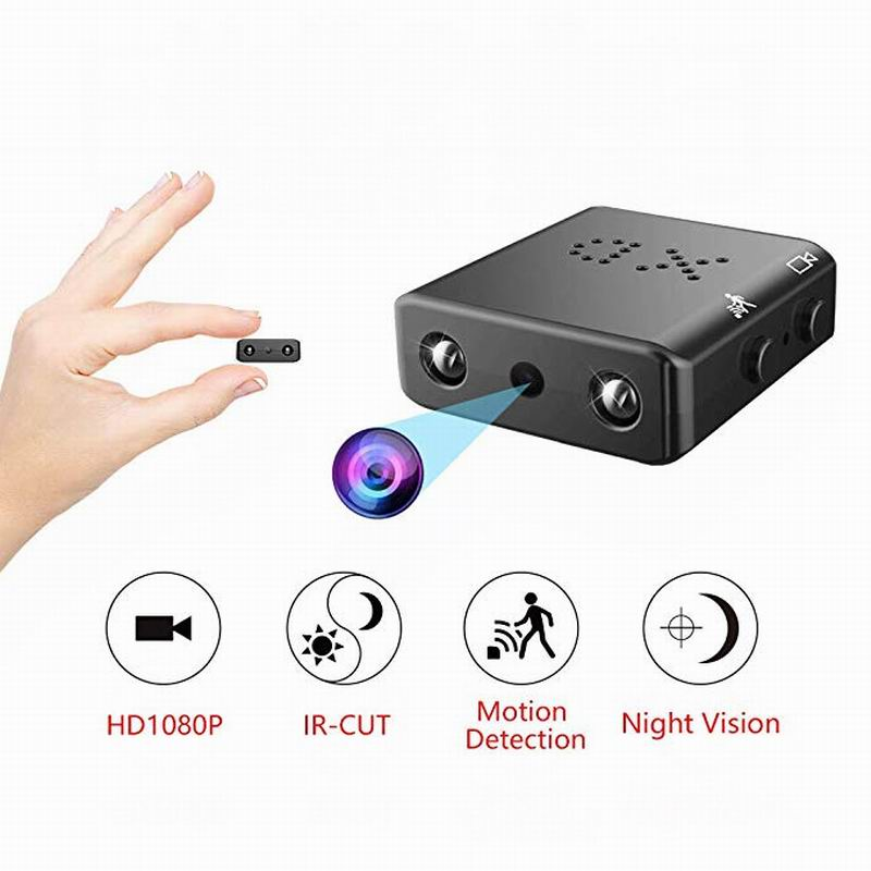 Più piccolo Smart Camera XD IR-CUT Mini Macchina Fotografica 64 GB di HD 1080 P Versione Notturna A Raggi Infrarossi Monitor Nascosto Voice recorder DV kamera