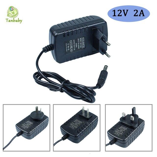 AC110-220V к DC12V адаптер питания 1A 2A 3A 4A 5A 6A 10A зарядное устройство адаптер ЕС/США/Великобритания/AU вилка адаптер питания для светодиодной ленты