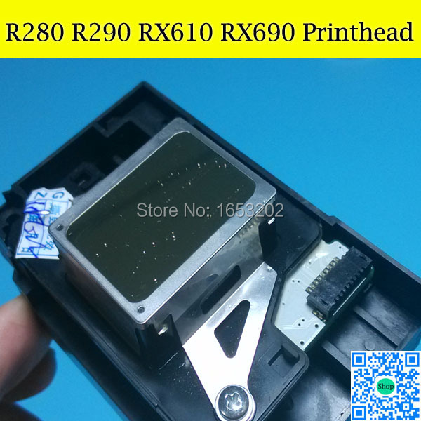 100% Original Printhead PRINT HEAD For EPSON R280 R290 R610 R690 Printer Head genuine original printhead print head for wp4515 wp4520 px b750f wp4533 wp4590 wp4530 inkjet printer print head