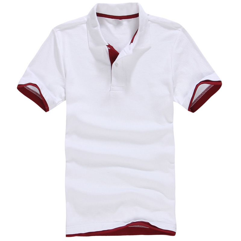 eeb0ecfe9ea DIY LOGO Customization Men s Brand Polo Shirt EMBROIDERY OR PRINT TEXT LOGO  Designer Polos custom company