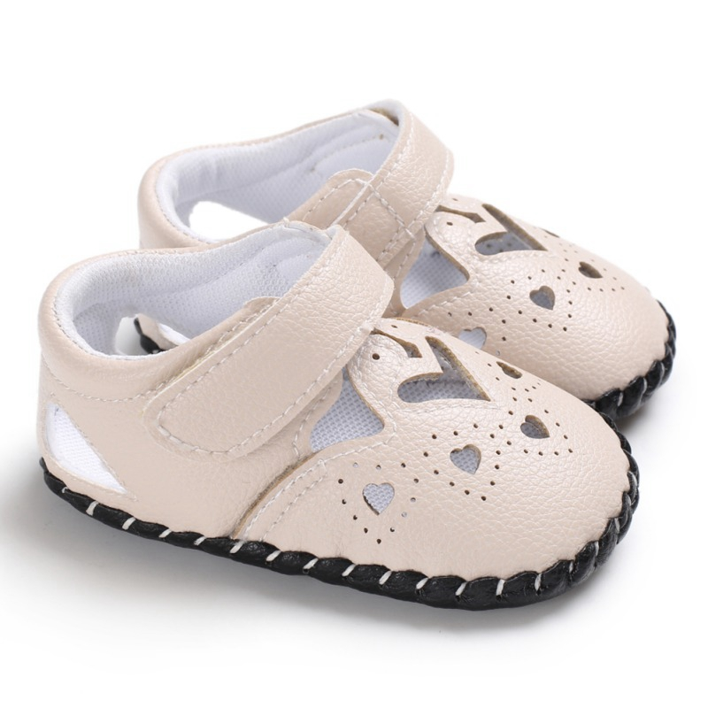Baby Shoes Summer Toddler Girl Cute PU Soft Sole Anti-slip Crib Shoes First Walkers Walking Shoes For Girls New