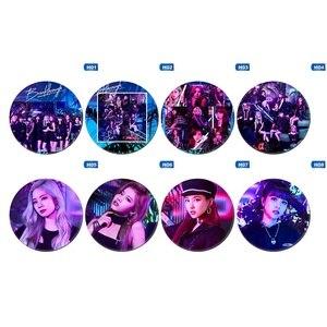 KPOP TWICE JYPNation Photobook TZUYU NAYEON SANA MINA DAHYUN Photo Badge Pins Brooches for Clothes Hat Backpack(China)