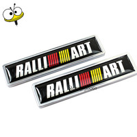 Car Styling Auto Car Sticker Emblem Badge Decal For Ralliart For Mitsubishi Lancer Pajero Outlander Grandis